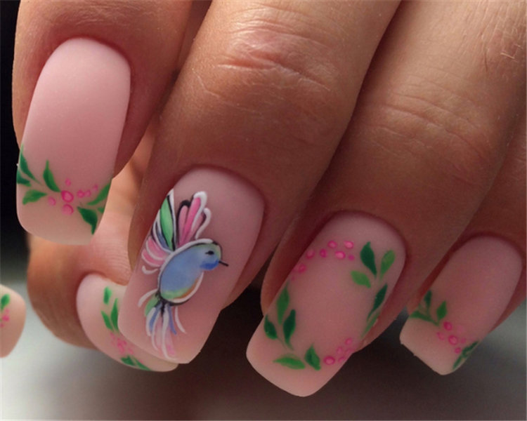 The most beautiful nail art design trends and techniques in nail manicure.