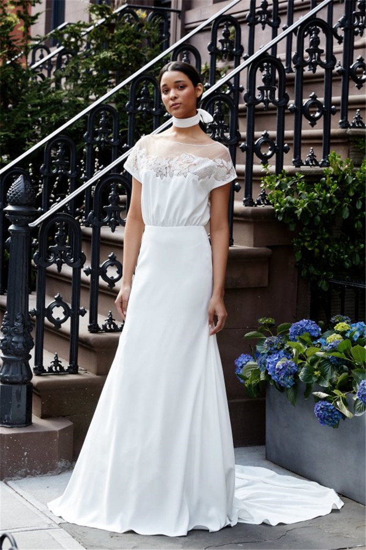 Fashion, romance, luxury, wedding photo examples, to bring you the perfect visual enjoyment/>–nextpage–></p> <p>We have found some of the most beautiful and fashionable wedding dresses. You can consider the following photo examples to give you a reference for wearing a wedding dress in the future.<br /> <img src=
