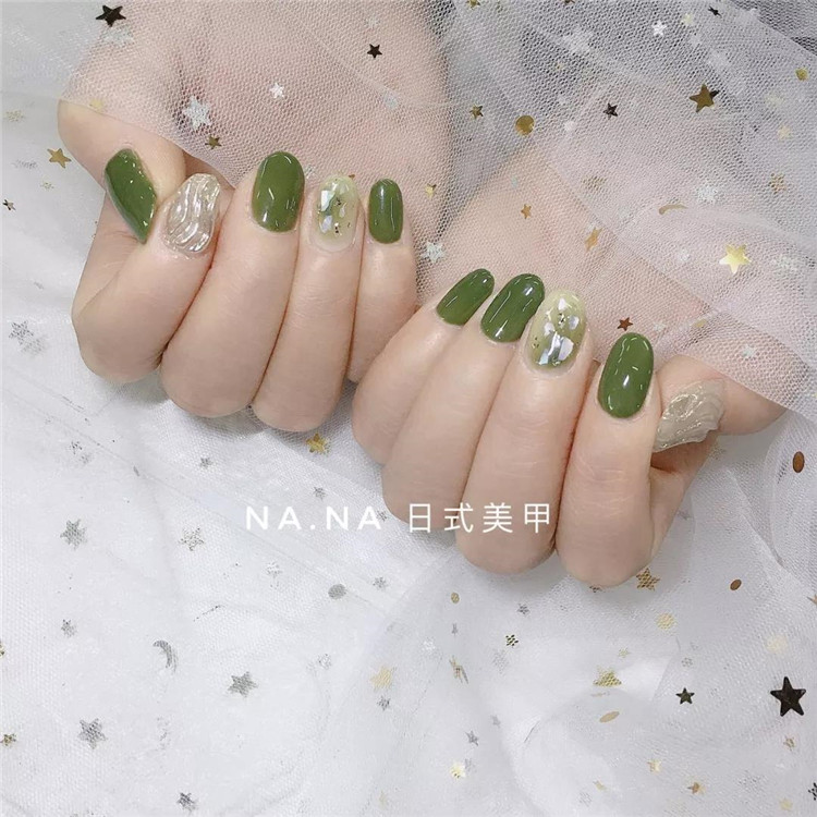 Nail tens of millions of nails, or green is the most eye-catching!/></p> <p><a href=