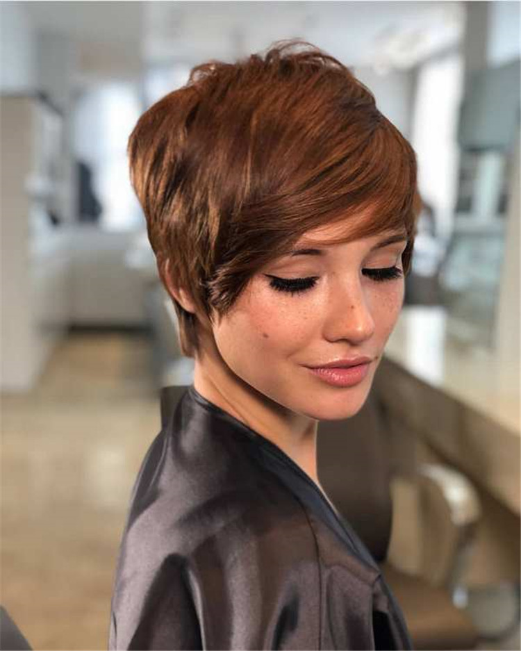 Fashion short hair 2019-2020 super creative: trends, new photos 097 - Page 51 of 57 ...