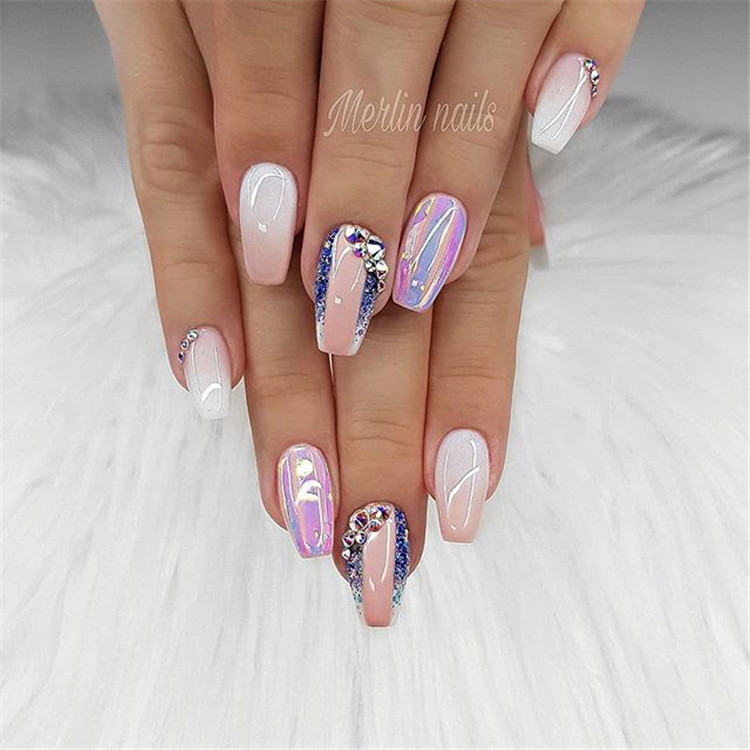87 diamond-set nails, make your nails look new!/></p> <p><a href=