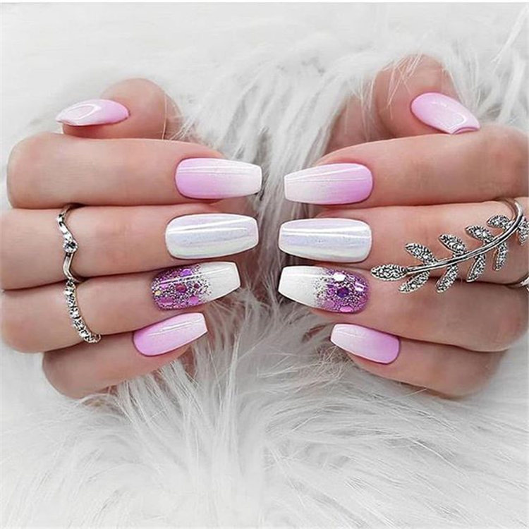 Popular Nail Colors 2020.2019 2020 Most Popular Color Mixing Nail Art Page 10 Of
