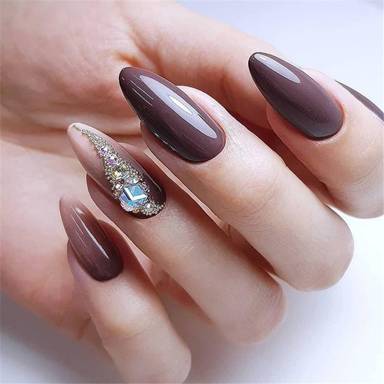 Fall Nail Colors 2020.2019 2020 Most Popular Color Mixing Nail Art Page 5 Of 105
