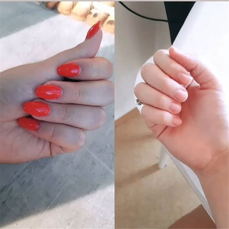 110+ summer simple fashion nail design