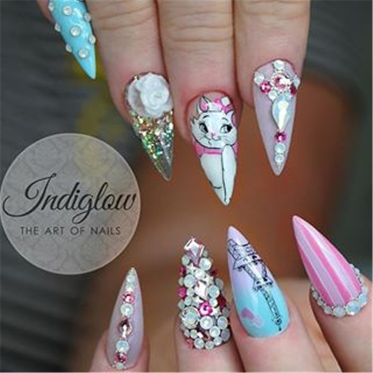 89 most popular acrylic nail designs this year/></p> <p><a href=