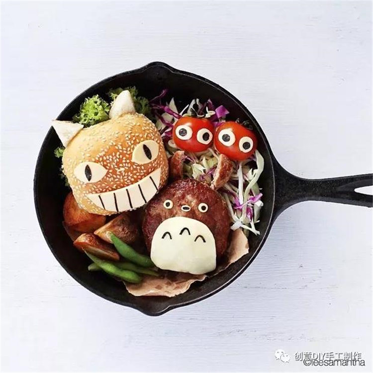 20+ cute cartoon creative DIY foods/></p> <p><a href=