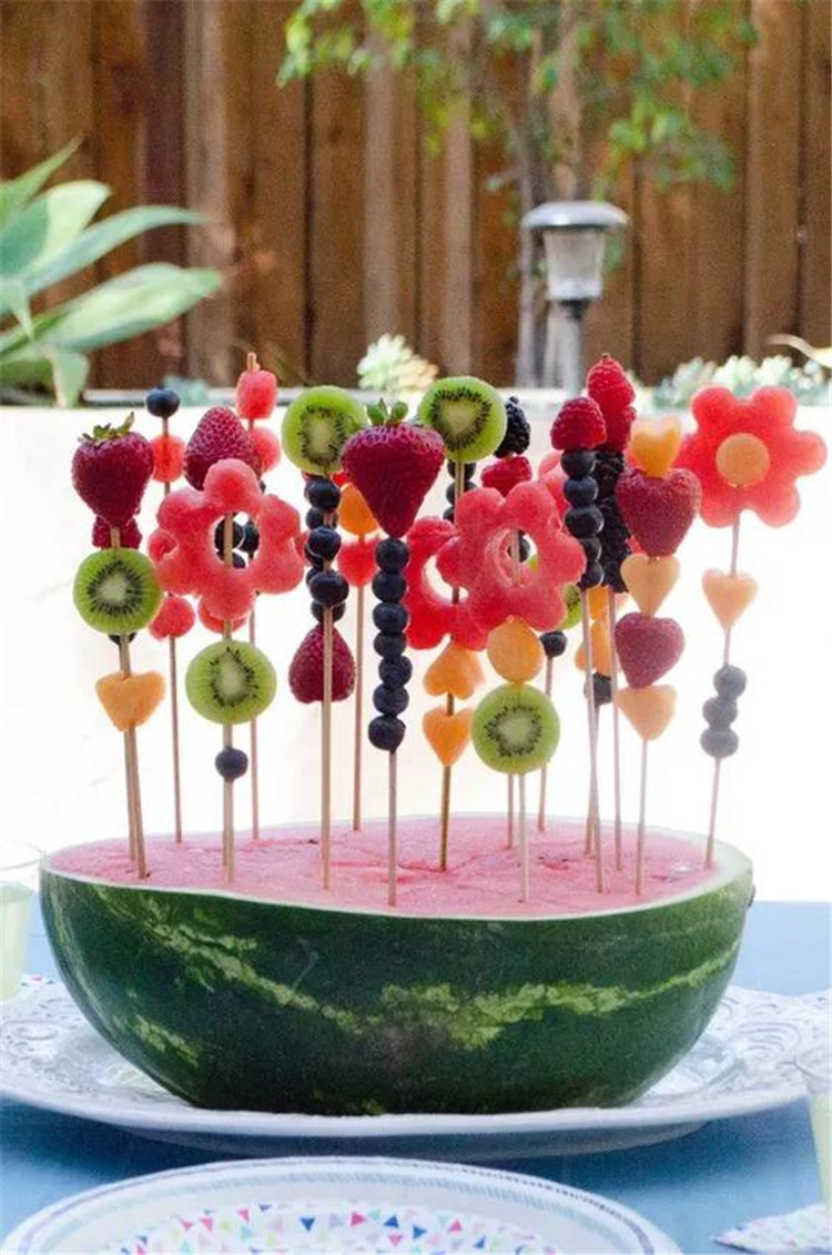 Creative fruit platter, simple and practical does not require advanced knife skills/></p> <p><a href=